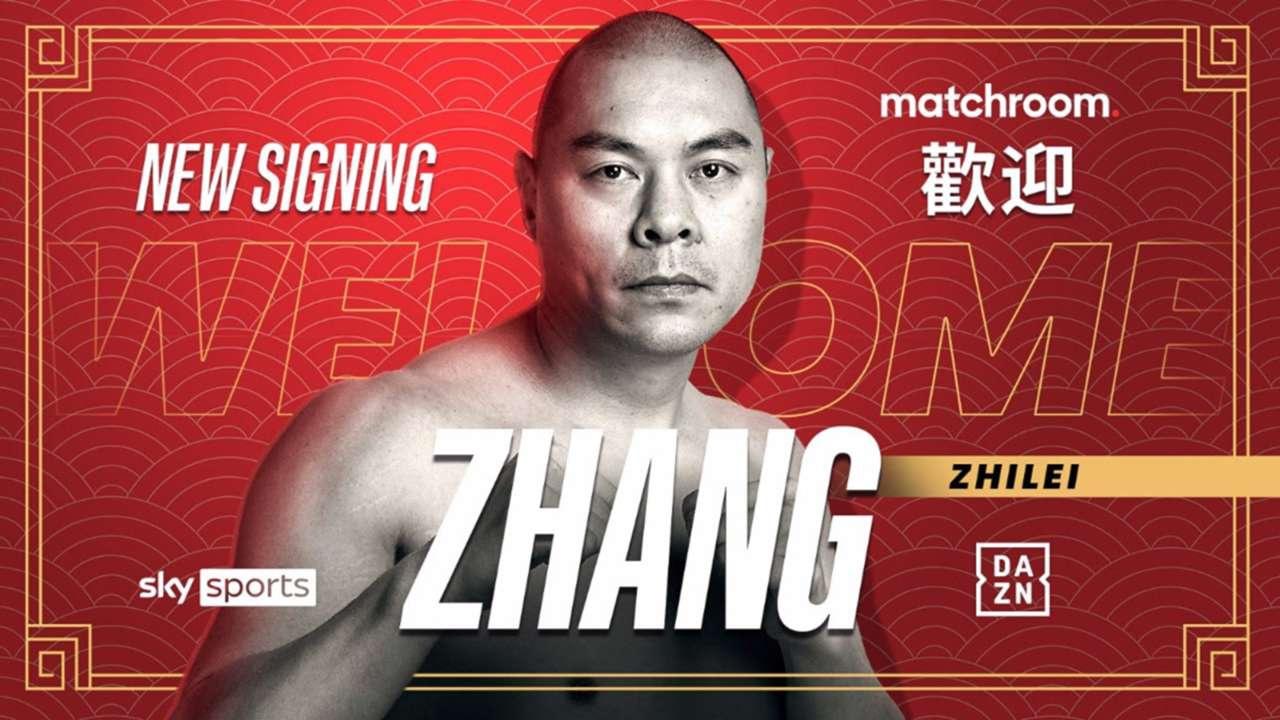 Zhang Zhilei : L'avenir a 37 ans.